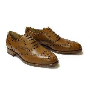 Oxford Fullbrogue Cognac Boxcalf